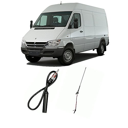 Fits Dodge Sprinter Van 2003-2006 Factory OEM Replacement Radio Stereo Custom Antenna ()