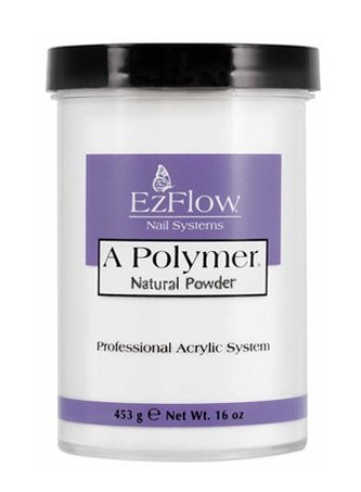 EZ Flow A Polymer Natural False Nails, 16 - Acrylic Ezflow Powder