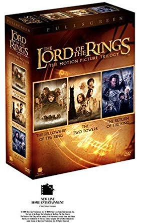 The Lord of the Rings Trilogy Collection (3-Movies DVD set-Fullscreen) ()