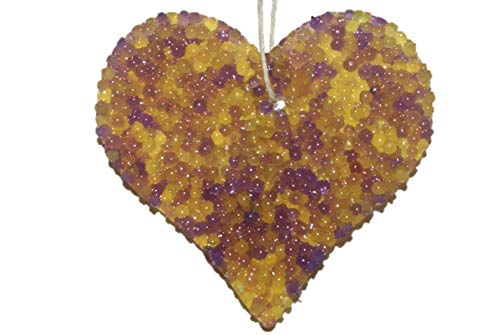 ChicWick Car Candle Lemon Lavender Heart Shape Car Freshener Fragrance ()