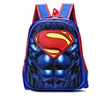 School Bag,Kid Backpack Superhero Children Backpack Adjustable Kindergarten Book Bags Primary School Boy Girls Book Backpack