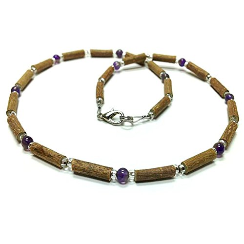 Pure Hazelwood Necklace Amethyst Therapeutic