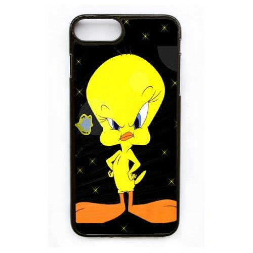 Coque,Apple Coque iphone 7 Plus (5.5 pouce) Case Coque, Generic Angry Tweety Bird Cover Case Cover for Coque iphone 7 Plus (5.5 pouce) Noir Hard Plastic Phone Case Cover