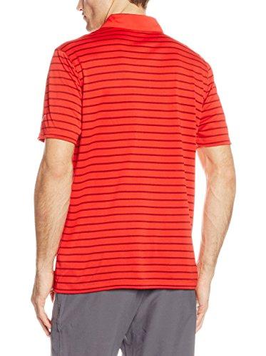 Nike Icon Stripe - Polo de manga corta para hombre rojo (team red / university red / blanco)