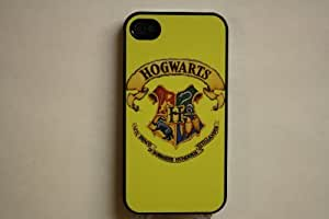 (558bi5) Yellow Hogwarts Crest Apple iPhone 5 Yellow Case - Harry Potter