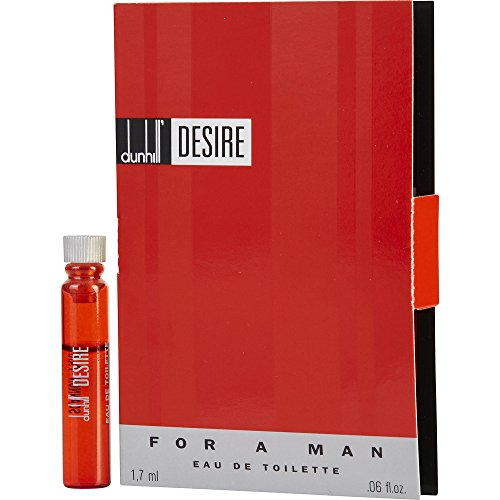 DESIRE by Alfred Dunhill EDT VIAL ON CARD for MEN ---(Package Of (Alfred Dunhill Vial)