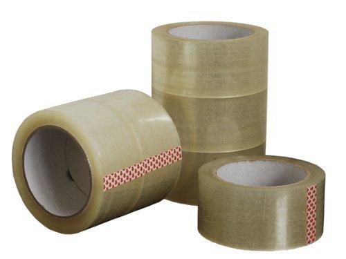 Generic 6 Rollen Paketband Klebeband Packband Klar 50 mm x 66 m
