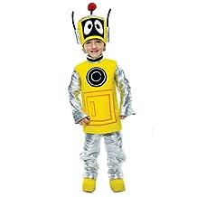 Paper Magic Group Yo Gabba Gabba Deluxe Plex Toddler Costume, 3/4T