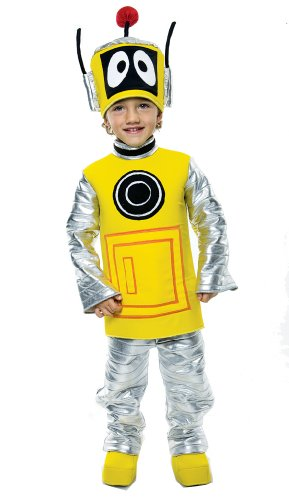 Yo Gabba Gabba Deluxe Plex Toddler Costume, Toddler 3/4 ()