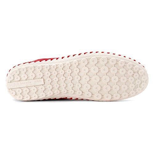 Bernie Mev Womens TW 05 Loafers Shoes Red ih6E1J5TS