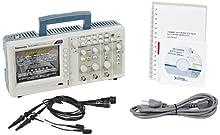 Tektronix TDS2001C 50 MHz, 2 Analog Channel Oscilloscope, 500 Ms/s Sampling, Lifetime Warranty