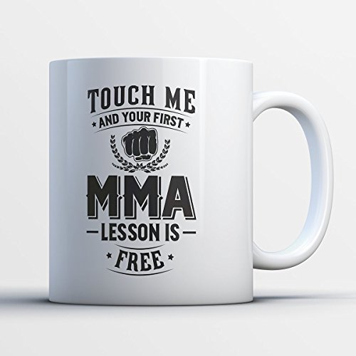 MMA Mug - First MMA Lesson Is (History Halloween Lesson)