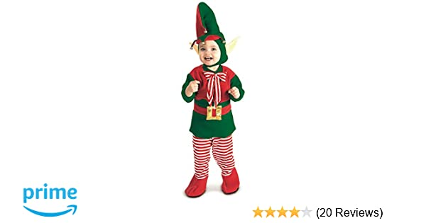 33ef7797327e0d Amazon.com: Rubie's Lil' Elf Costume, Multi, Toddler: Clothing