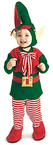 Rubie's Lil' Elf Costume, Multi, Toddler