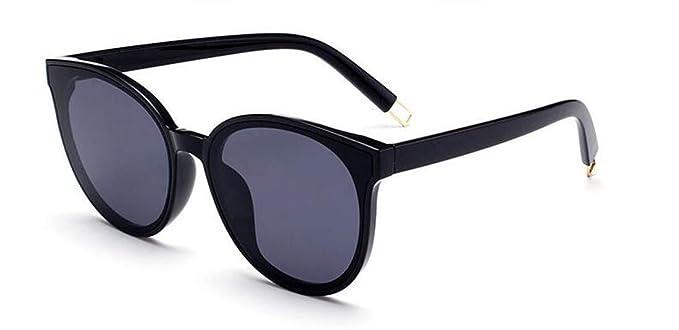5b4eb96cfd9 GAMT Polarized Sunglasses Metal Frame Oversized Round Eyeware For Men And  Women black-black