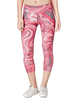 Performance Women's Abstract Printed Cropped Legging