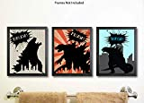 Godzilla Type Monster Themed Party Supply Package