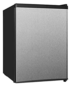 Midea WHS-87LSS1 Compact Single Reversible Door Refrigerator and Freezer, 2.4 Cubic Feet, Stainless Steel (B00MMRFQR6) | Amazon Products