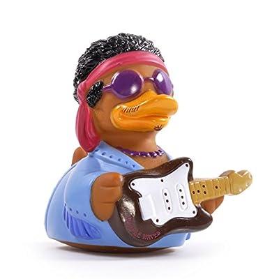 CelebriDucks Purple Waves Guitar Hero Bath Toy: Toys & Games