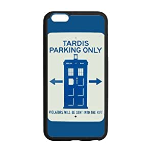 Doctor Who TARDIS Parking Only Sign Case Custom Durable Hard Cover Case for iPhone 6 - 4.7 inches case - Black Case