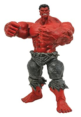 Diamond Select Toys Marvel Select Red Hulk Action Figure from Diamond Select Toys