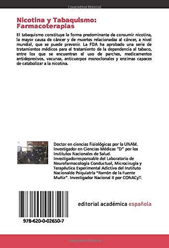 Nicotina y Tabaquismo: Farmacoterapias: Estado Actual ...