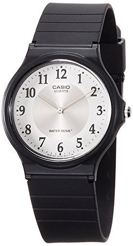 Casio Wristwatch Unisex Vintage Mq-24-7B3 Slim Rubber