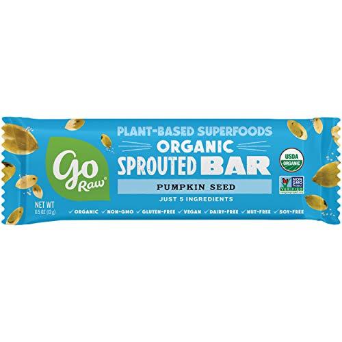 Go Raw Pumpkin Seed Bars | Keto | Gluten Free Snacks | Vegan | Organic | Paleo | Superfood (10 Bars) 2