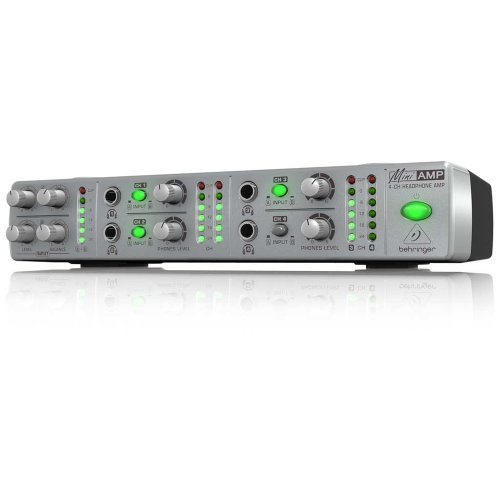 (Behringer AMP800 Four Channel Headphone)