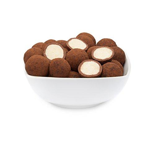 CrackersCompany - Feinste Trüffel-Schokolade mit Kokos-Creme und Kakaopulver,