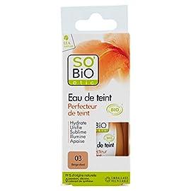 SO'BiO étic Eau de Teint Perfecteur de Teint 5 en 1 03 Beige Doré 30 ml