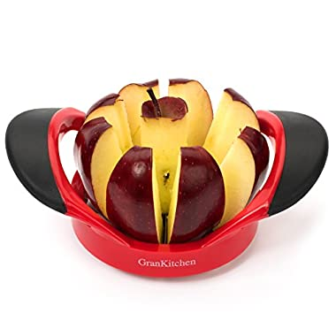 GranKitchen Apple Slicer - Corer, Cutter, and Divider - Red … (1)