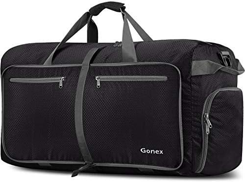 Gonex 150L Travel Duffel Bag Foldable Extra Large Duffle Bag XL Heavy Duty for Men Women for Luggage Shopping