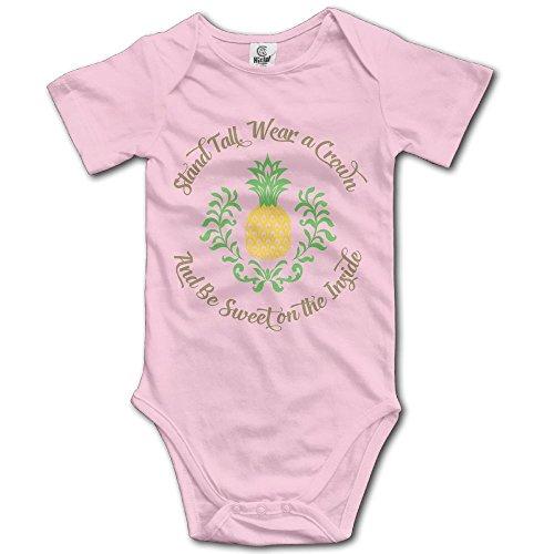 Kkajjhd Be A Pineapple Kids Boys Girls Baby Bodysuit Outfits