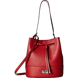 LAUREN Ralph Lauren Women's Hornsby Drawstring Medium Red One Size