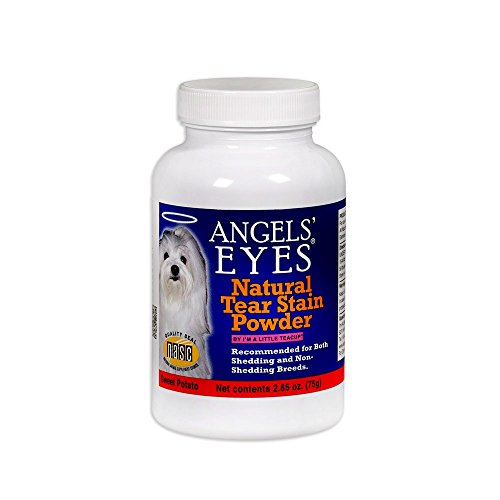 Angels Eyes Tear Stain Remover Natural Sweet Potato Flavor (2.65 oz) - 75 grams (Flavor Potato)