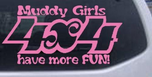 【現品限り一斉値下げ!】 Muddy Girls 4 X 10in 5.0in 4 Have X More Fun Off Road Carウィンドウ壁ノートパソコンデカールステッカーすべてのサイズ 10in X 5.0in 10inX5.0in_Pink_11086_22 10in X 5.0in B00674WDEE, アイアン専門店CERISE(スリーズ):f3791be6 --- a0267596.xsph.ru