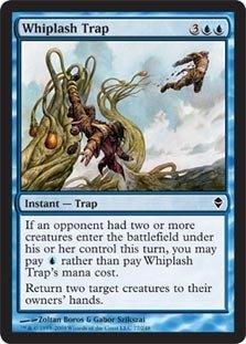 (Magic: the Gathering - Whiplash Trap (77) - Zendikar)