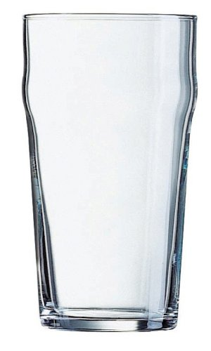 Lager Pint Glass (Luminarc on Tap 4-Piece Nonic Lager, 20-Ounce)