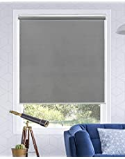 """Chicology Cordless Roller Shades Snap-N'-Glide, Light Filtering Perfect for Living Room/Bedroom/Nursery/Office and More. Urban Gray (Light Filtering), 70"""" W X 72"""" H"""