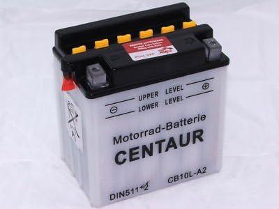 Centaur Ms Motocicleta de la batería de 6v 8ah; DIN 00800; sin ácido de la batería 6cb8-3b (6cb8l-b)