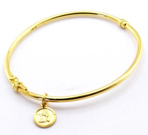 Carissima Gold - 1.31.1861 - Bracelet Jonc Femme - Or jaune (9 cts) 3.6 Gr