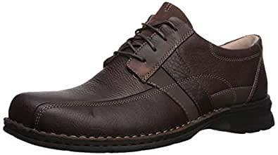 Clarks Men's Espace Oxford, Brown Oily Leather, 070 M US