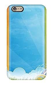 Excellent Design Colors Vector Phone Case For Iphone 6 Premium Tpu Case