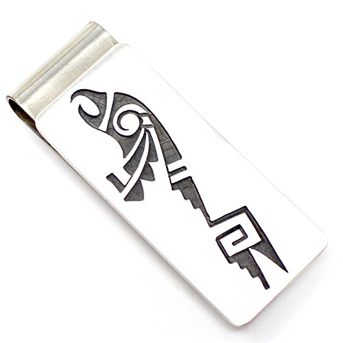 Hopi Sterling Silver Eagle Money Clip