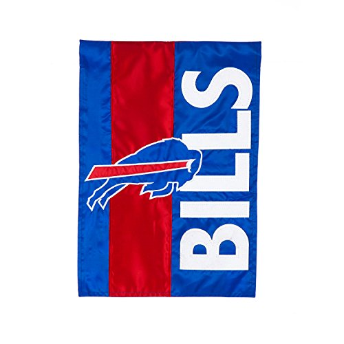 Buffalo Bills Garden (Team Sports America Buffalo Bills Embellish Garden Flag, Multicolor)