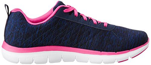 Skechers Baskets Femme Appeal Basses Flex 2 qrZwrt