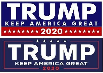 Five Different Sticker Designs 2020 Designs Trump For President Donald Bumper Stickers Limited Time Offer Prime-Products Make America Great Variety 10 Pack