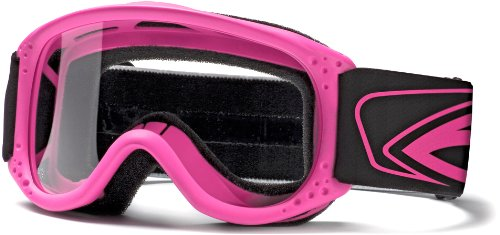 Smith Optics Junior MX Goggle (Youth Ages 3+, Hot Pink), Outdoor Stuffs