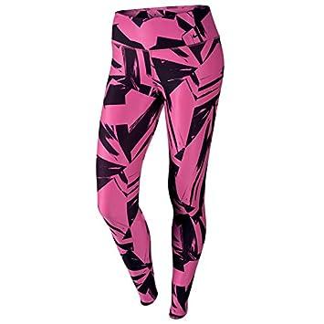 785707f83 Nike Women s Legend 2.0 Floe Training Leggings - Hot Pink Black-XS ...